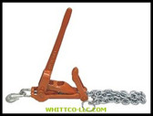 "3/8"" COMEALONG W/5'CHAIN& 47"" TRAVEL