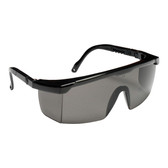 EMB20S RETRIEVER II™ BLACK FRAME  GRAY LENS WITH INTEGRATED SIDE SHIELDS  5-POSITION RATCHET  EXTENDABLE TEMPLES Cordova Safety Products