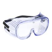 GD10 PERFORATED  CLEAR POLYCARBONATE LENS  ELASTIC STRAP Cordova Safety Products