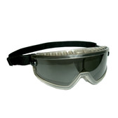 GDS20T DS-1™ DUST/SPLASH GOGGLES WITH DARK GRAY FRAME  GRAY LENS ANTI-FOG Cordova Safety Products