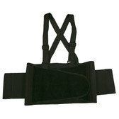 SB-S BACK SUPPORT BELT WITH ATTACHED SUSPENDERS  QUICK ADJUST ELASTIC OUTER PANELS  Cordova Safety Products