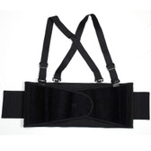 BSB01-S BACK SUPPORT BELT WITH BREAKAWAY SUSPENDERS  QUICK ADJUST ELASTIC OUTER PANELS Cordova Safety Products