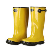 BYS17-12 YELLOW SLUSH BOOT WITH BLACK RIBBED SOLE  COTTON LINED  17-INCH LENGTH  OVER-THE-SHOE STYLE  SIZE 12 Cordova Safety Products