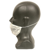BR1/5 WHITE POLYPROPYLENE BEARD COVER Cordova Safety Products