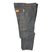 FZ510DM4634 FOREFRONT™ FR CARPENTER JEANS  13 OZ FIREZERO® DENIM FABRIC  RELAXED FIT  SIX POCKETS  HAMMER LOOP  ZIP FLY  WAIST 46/LENGTH 34 Cordova Safety Products