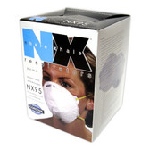 NX95 N95 PARTICULATE RESPIRATOR  2 LATEX FREE STRAPS  NIOSH APPROVED  20/BOX Cordova Safety Products