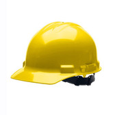 H24R2 DUO™ YELLOW CAP-STYLE HELMET  4-POINT RATCHET SUSPENSION Cordova Safety Products
