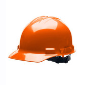 H24R3 DUO™ ORANGE CAP-STYLE HELMET  4-POINT RATCHET SUSPENSION Cordova Safety Products