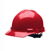 H24R4 DUO™ RED CAP-STYLE HELMET  4-POINT RATCHET SUSPENSION  Cordova Safety Products