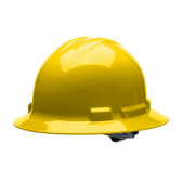 H36R2 DUO™ YELLOW FULL-BRIM STYLE HELMET  6-POINT RATCHET SUSPENSION Cordova Safety Products
