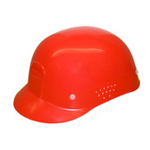 HBC4 RED VENTILATED BUMP CAP/4-POINT PINLOCK WITH PLASTIC SUSPENSION Cordova Safety Products