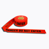T40212 4 MIL RED DANGER DO NOT ENTER Cordova Safety Products