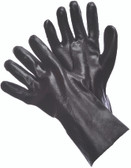 "96-5401 - SMOOTH FINISH BLACK PVC 12"" CHEMICAL RESISTANT GLOVE+D2:D40S"