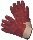 96-5418  - NATURAL RUBBER COATED  CHEMICAL RESISTANT GLOVES