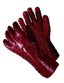 "96-5419  - 12"" CUFF WITH ROCKY FINISH   CHEMICAL RESISTANT GLOVES"
