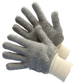 50-1200Q-G - 22 OZ. TERRY CLOTH GLOVES COTTON CLOVES