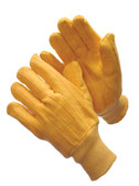 60-2340H  - GOLDEN CHORE WITH MATCHING KNIT WRIST   COTTON HOT-MILL