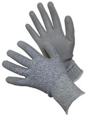 20-5538G  - CUT 5 H-POWER SHELL WITH PU PALM COATED GLOVES (CUT RESISTANT)   CUT & HEAT RESISTANT