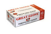 42-20WV-SV (INDUSTRIAL GRADE) - STRETCH VINYL DISPOSABLE GLOVES  DISPOSABLE GLOVES - VINYL