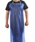 "10-3545BU  - PVC APRON 35"" X 45"" DISPOSABLE WEAR"