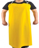 "10-4547-Y - PVC / POLYESTER APRON 35"" X 45 ""   DISPOSABLE WEAR"