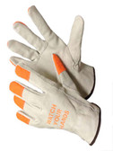 32-1383HVO  - COW GRAIN DRIVER GLOVES  LEATHER DRIVER