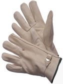 32-1384  - COWGRAIN DRIVER GLOVES  LEATHER DRIVER