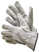 55-1450PB  - PEARL GREY SPLIT LEATHER WITH DRIVER GLOVES  WITH KEYSTONE THUMB PILE LINING  LEATHER DRIVER