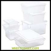 "12-1/2 U.S. GAL. ""DUR-X""WHITE FOOD/TOTE B