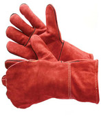 31-4016  - RED LEATHER WELDING LEATHER WELDING