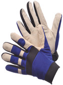 33-9002  - MECHANIC GLOVES- COW GRAIN  MECHANICAL GLOVES