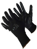 50-8838BKBK  - BLACK POLYESTER SHELL W/ BLACK NITRILE FOAM NYLON/POLYESTER SHELL W/ COATING