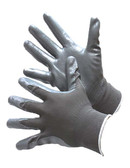 50-8839G  - GREY NYLON SHELL, GREY NITRILE COATING  NYLON/POLYESTER SHELL W/ COATING