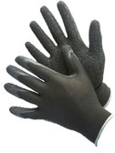 50-8839P-ASST-1  - POLYESTER SHELL WITH NITRILE COATING - 1 PAIR TAGGED  NYLON/POLYESTER SHELL W/ COATING