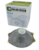 90-9510VCB  - CARBON N95 RESPIRATOR  WITH VALVE  RESPIRATORS