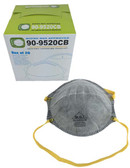 90-9520CB  - CARBON N95 RESPIRATOR RESPIRATORS
