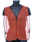 98-0300-O - ORANGE MESH  SAFETY VEST