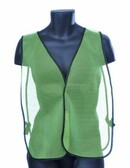 98-0301-G - GREEN MESH  SAFETY VEST