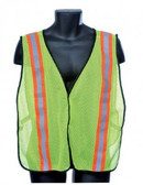 98-1201-G - GREEN MESH  SAFETY VEST