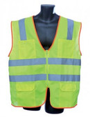 98-2901G  - LIME CLASS CLASS II VEST SAFETY VEST
