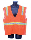 98-5800-O - ORANGE SURVEYOR'S VEST SAFETY VEST
