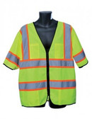 98-3801-G - LIME CLASS III VEST  SAFETY VEST
