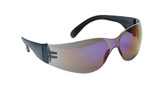 99-T8200-SM  - SILVER MIRROR LENS  SAFETY GLASSES -STORM