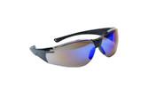 99-T8500-BM  - BLUE MIRROR LENS SAFETY GLASSES -VIPOR
