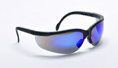 99-T8800-BM  - BLUE MIRROR LENS   SAFETY GLASSES -WOLVERINE