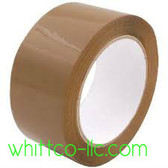 48mm x 50m 881 Tan Carton Sealing Tape 36/cs 8814850T HYSTIK