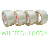 72mm x 100m 883 HYSTIK Clear Hot Melt Tape 24/cs 88372100C