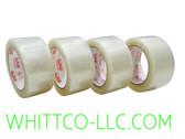 72mm x 100m 883 HYSTIK Clear Hot Melt Tape 24/cs 88372100C