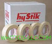 12mm x 55m HYSTIK Econo Grade Masking Tape 72/cs 8031255