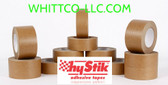 48mm x 50m Hystik Kraft Lt Tan Flatback Tape 24/cs 8854850